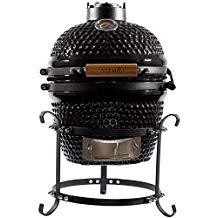 Viemoi Kamado Grill Mini Kamado Charcoal Grill