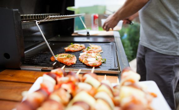infrared vs gas grill
